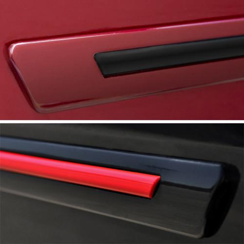 Painted Body Side Door Moldings W/Color Insert for CHEVROLET Cruze (4/5-Door) 2016-2019