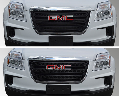 Glossy Black Grille Overlay for GMC Terrain 2016-2017