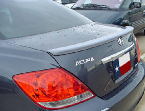 Acura RL 2005-2008 Factory Lip No Light Rear Trunk Spoiler