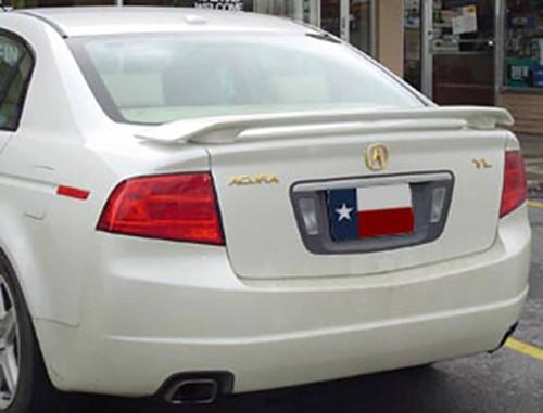 Acura TL 2004-2008 2-Post Factory Post No Light Rear Trunk Spoiler
