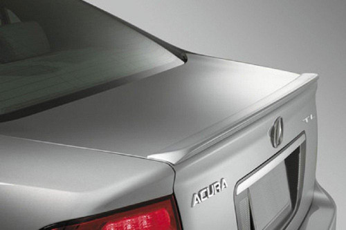 Acura TL 2004-2008 Factory Lip No Light Rear Trunk Spoiler