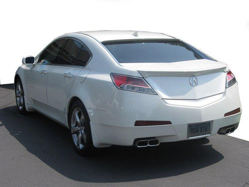 Acura TL 2009-2015 Factory Lip No Light Rear Trunk Spoiler