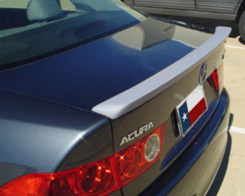 Acura TSX 2003-2008 Custom Lip No Light Rear Trunk Spoiler