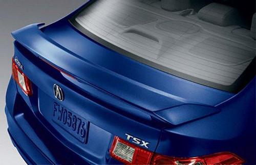 Acura TSX 2009-2014 Factory Post Lightedt Rear Trunk Spoiler