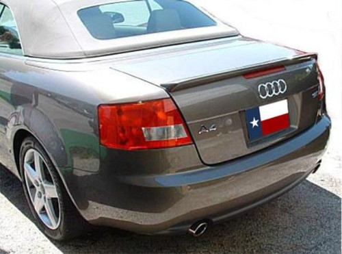 Audi A4 2006-2010 Cabriolet Custom Lip No Light Rear Trunk Spoiler