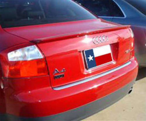Audi A4 2008 Custom Lip No Light Rear Trunk Spoiler