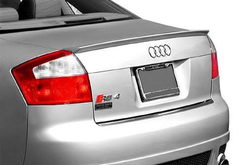 Audi A4 2002-2005 Factory Lip No Light Rear Trunk Spoiler
