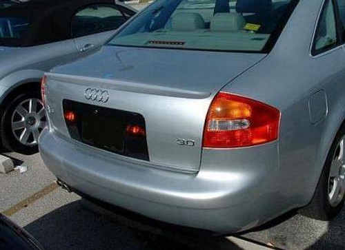 Audi A6 2005-2008 Custom Lip No Light Rear Trunk Spoiler