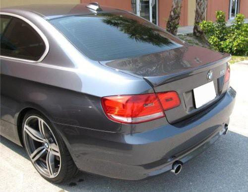 BMW 3 Series 2-Dr 2007-2013 (Not Convertible) Custom Lip No Light Rear Trunk Spoiler