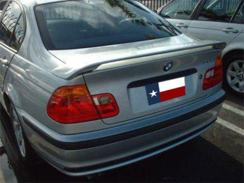 BMW 3 Series 4Dr 1999-2005 Factory Post No Light Rear Trunk Spoiler