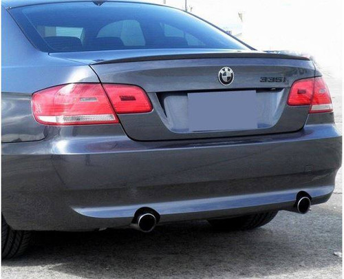 BMW 3 Series Convertible 2007-2012 Factory Lip No Light Rear Trunk Spoiler