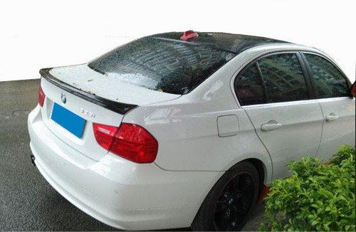 BMW 3-Series 4-Dr 2006-2011 Factory Lip No Light Rear Trunk Spoiler