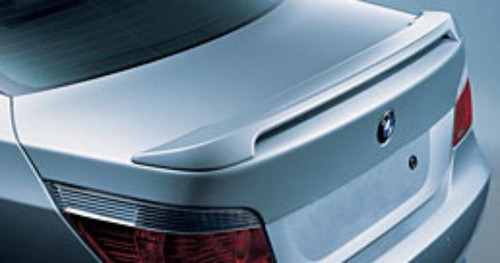 BMW 5-Series 2004-2010 Factory Post No Light Rear Trunk Spoiler