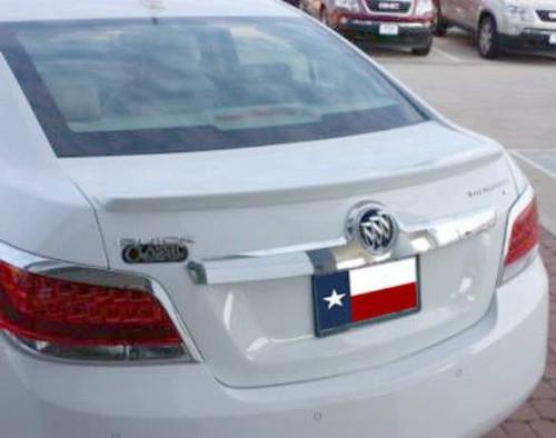 Buick Lacrosse 2010-2013 Factory Lip No Light Rear Trunk Spoiler