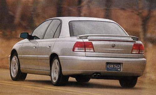 Cadillac Catera Sport 1997-2002 Factory Post No Light Rear Trunk Spoiler