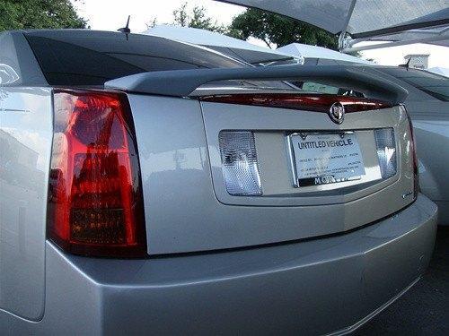 Cadillac CTS 2003-2007 Custom Post No Light Rear Trunk Spoiler
