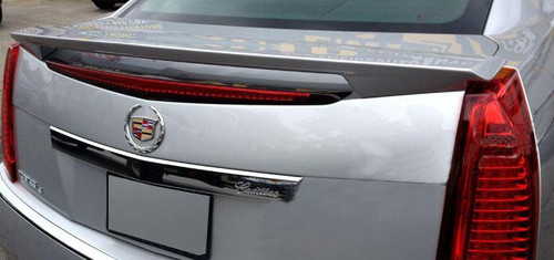 Cadillac CTS Sedan 2008-2013 Factory Post No Light Rear Trunk Spoiler