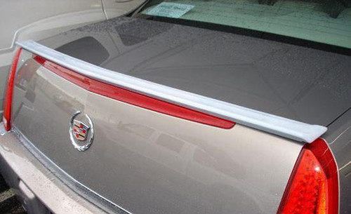 Cadillac Deville DTS 2006-2011 Custom Lip No Light Rear Trunk Spoiler