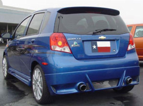 Chevrolet Aveo 5-Dr Hatchback 2004-2011 Factory Roof No Light Spoiler