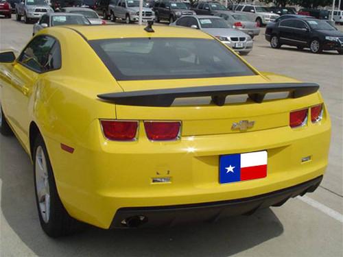 "Chevrolet Camaro 2010-2013 ""Sawtooth"" Custom Post No Light Rear Trunk Spoiler"