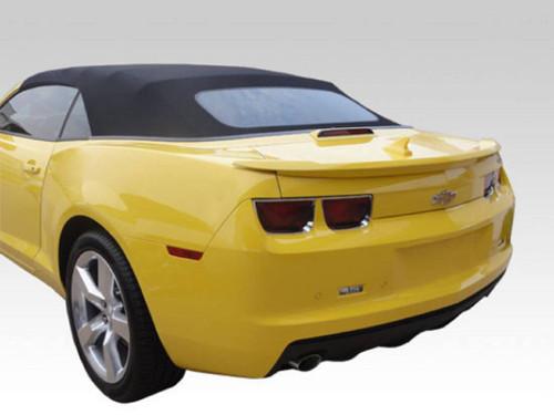 Chevrolet Camaro Convertible 2011-2013 Factory Lip No Light Rear Trunk Spoiler