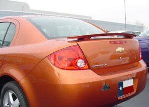 Chevrolet Cobalt 4-Dr 2005-2010 Factory Post No Light Rear Trunk Spoiler