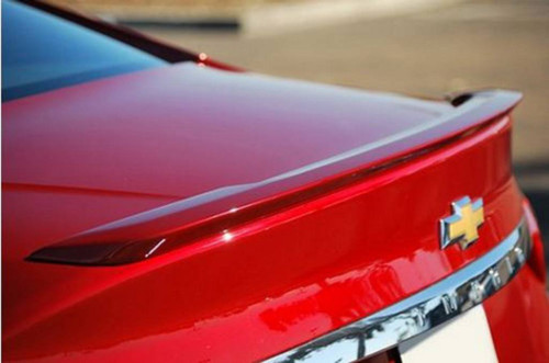Chevrolet Impala 2014-2017 (Not Ltd) Factory Lip No Light Rear Trunk Spoiler
