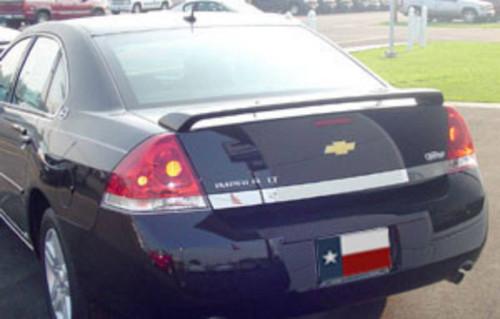 Chevrolet Impala LT 2006-2013 (Fits 2014+ Limited) Factory Post No Light Rear Trunk Spoiler