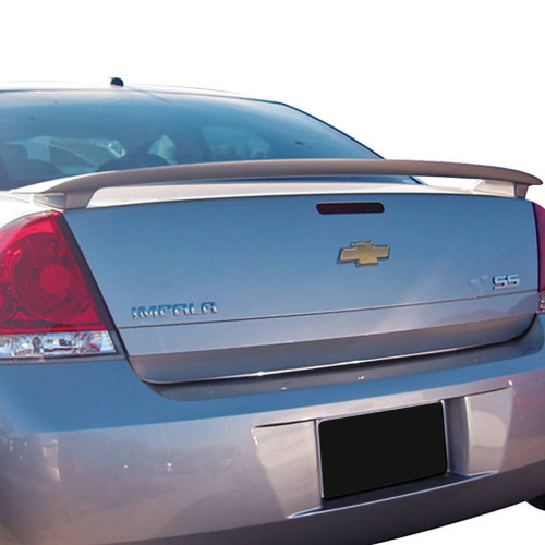 Chevrolet Impala SS 2006-2013 (Fits 2014+ Limited) Factory Post No Light Rear Trunk Spoiler