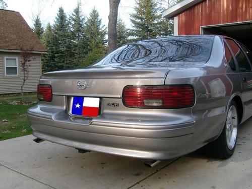Chevrolet Impala SS 1991-1996 Factory Flush No Light Rear Trunk Spoiler
