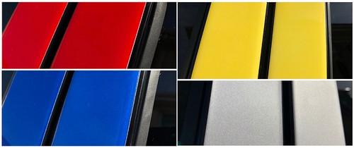 Toyota Yaris Sedan 2007-2011 Painted Pillar Posts Trim 6PCS