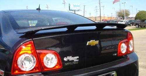 Chevrolet Malibu 2008-2012 Custom Post No Light Rear Trunk Spoiler