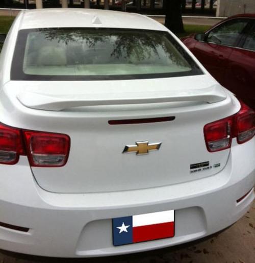 Chevrolet Malibu 2013-2015 Custom Post No Light Rear Trunk Spoiler
