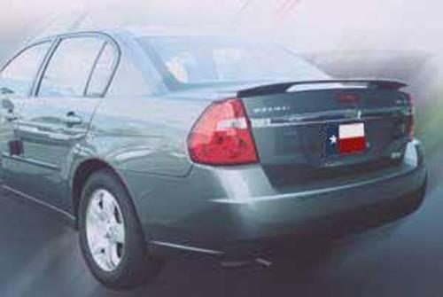 Chevrolet Malibu 2004-2007 Factory Post No Light Rear Trunk Spoiler
