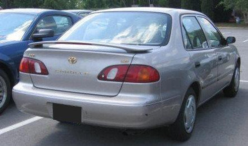 Chevrolet Prizm 1998-2002 Factory Post Lighted Rear Trunk Spoiler