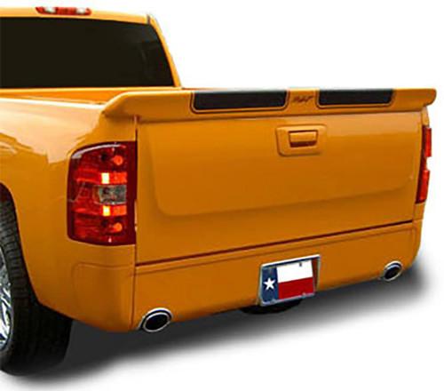 Chevrolet Silverado 2007-2013 (Not Stepside) Custom Tailgate No Light Rear Trunk Spoiler