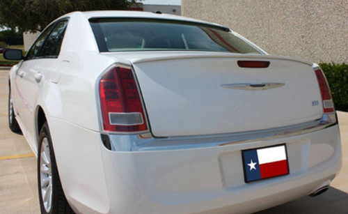 Chrysler 300 2011-2017 Custom Lip No Light Rear Trunk Spoiler