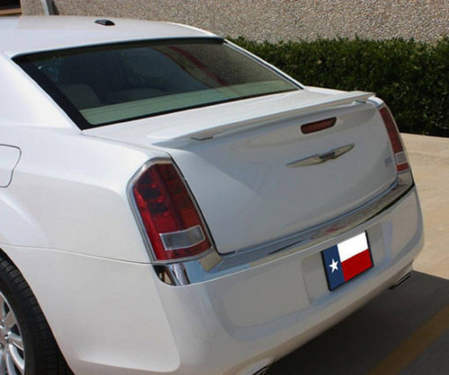 Chrysler 300 2011-2017 Custom Post No Light Rear Trunk Spoiler