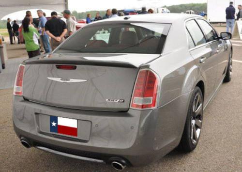 Chrysler 300 Srt-8 2011-2017 Factory Flush No Light Rear Trunk Spoiler