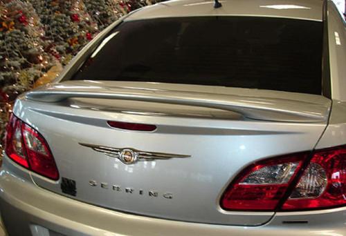 Chrysler Sebring 4-Dr 2007-2010 Custom Post No Light Rear Trunk Spoiler