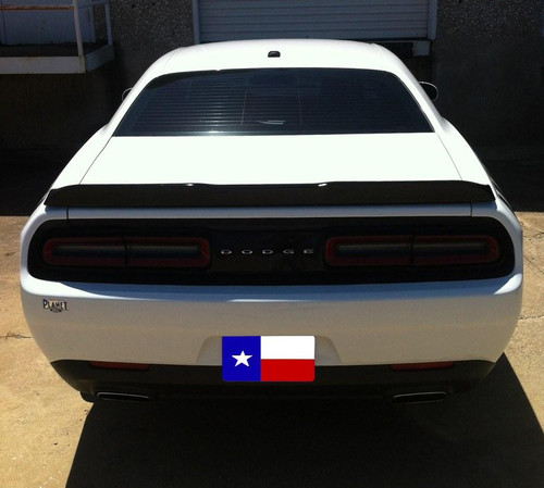 Dodge Challenger 2008-2014 Factory Flush No Light Rear Trunk Spoiler