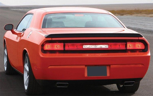 Dodge Challenger 2008-2014 Factory Small Flush No Light Rear Trunk Spoiler