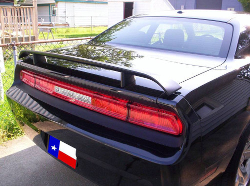 Dodge Challenger 2008-2014 Factory Post No Light Rear Trunk Spoiler