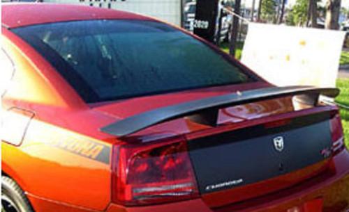 Dodge Charger Daytona Hemi R/T 2006-2010 Factory Post No Light Rear Trunk Spoiler