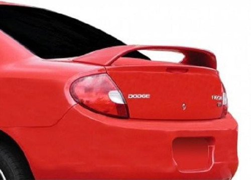 Dodge Neon 2000-2005 Mid-Rise Factory Post No Light Rear Trunk Spoiler
