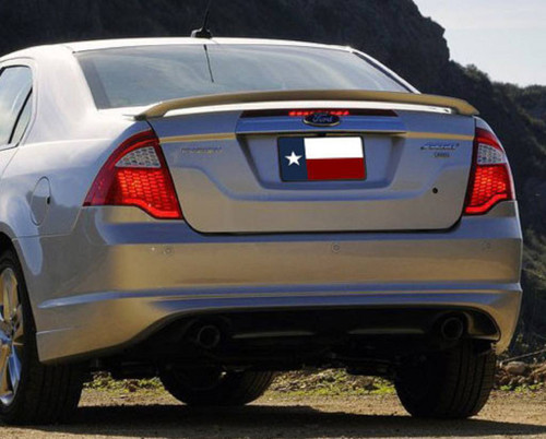 Ford Fusion 2010-2012 Factory Post No Light Rear Trunk Spoiler