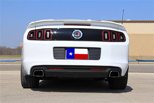 Ford Mustang 3 Piece 2010-2014 Factory Flush No Light  Rear Trunk Spoiler