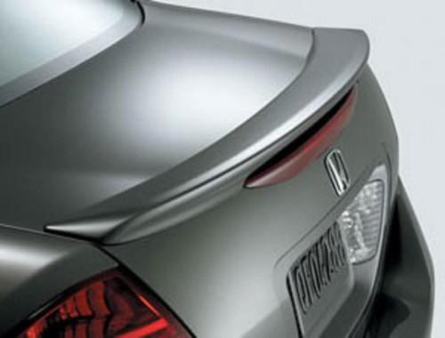 Honda Accord 4 Dr 2006-2007 Factory Lip No LightRear Trunk Spoiler