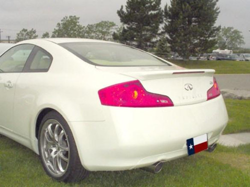 Infiniti G35 Coupe 2003-2007 Factory Flush Lighted Rear Trunk Spoiler
