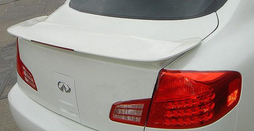 Infiniti G35 Sedan 2003-2006 Factory Post Lighted Rear Trunk Spoiler
